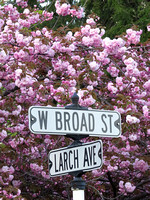 Spring 2013 W. Broad At at Larch Ave